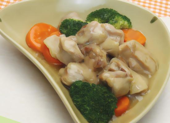 鶏肉のはちみつ生姜煮