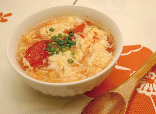 トマトと玉子のスープ