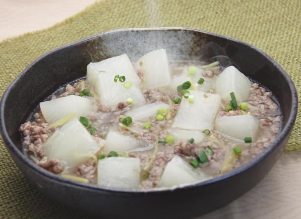 大根とひき肉のとろとろ煮
