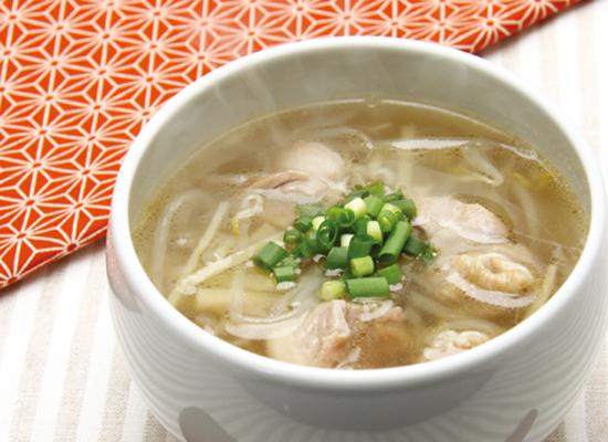 白だしで作る|ピリッと美味しい生姜スープ