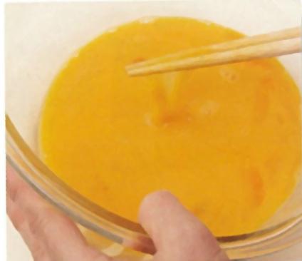 白だしで作る美味しい卵焼き:手順0