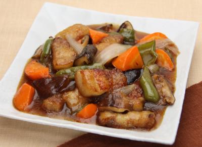 煮物だしで作る~和風酢豚