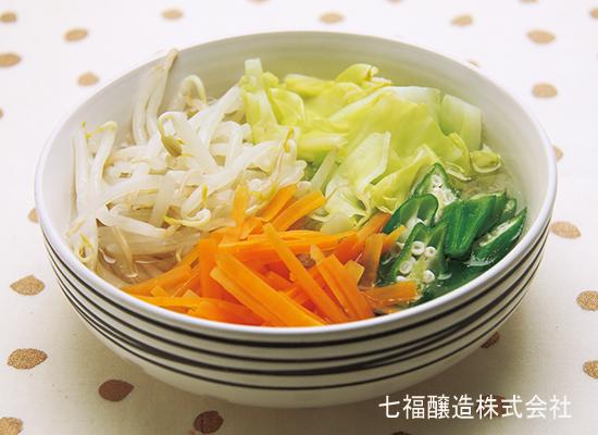 つゆだく┃温野菜サラダ
