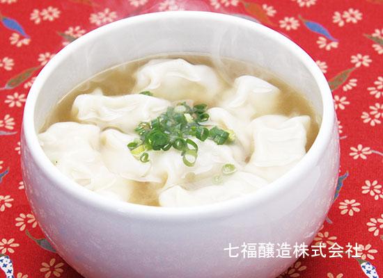 白だしと餃子で作る|ぎょうざスープ