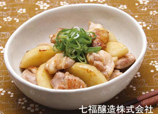 山芋と鶏肉の照り煮