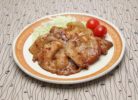 豚肉の黒糖生姜焼き