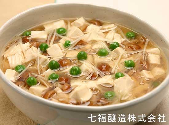 豆腐のあん仕立て
