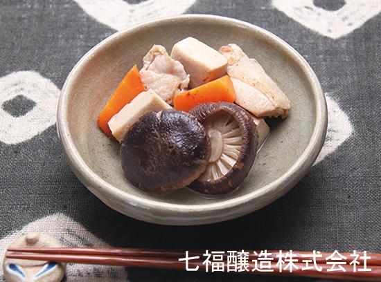 白だしで|高野豆腐と上どんこの煮物