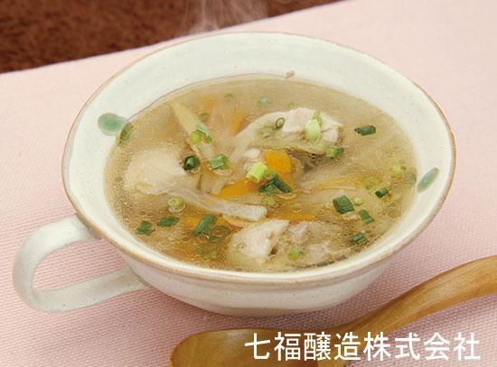 大根と生姜のぽかぽかスープ