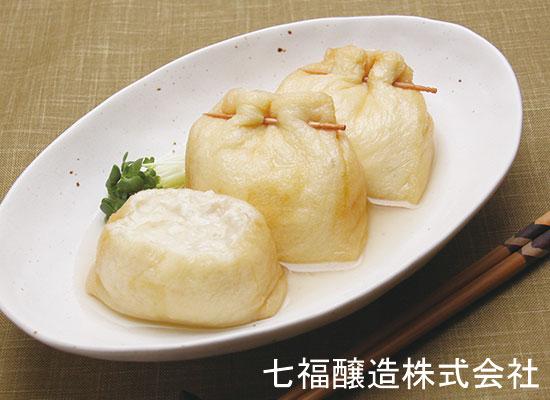 ふわとろ♪長芋と豆腐の巾着