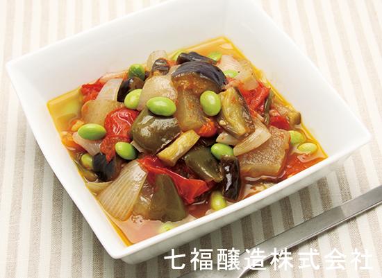 夏野菜たっぷりのラタトゥイユ