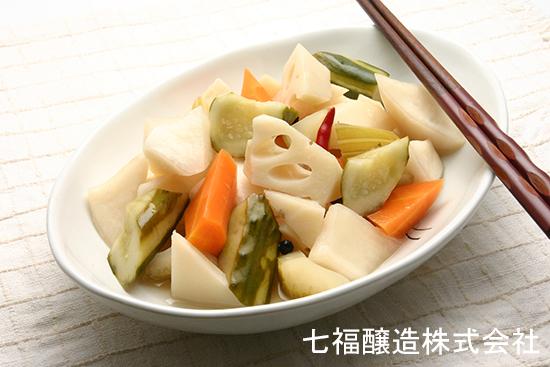浅漬けの素で作る根菜ピクルス