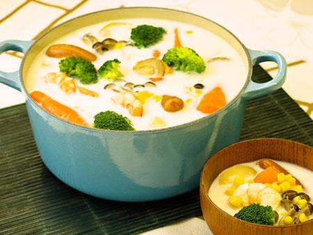 ミルク鍋♪