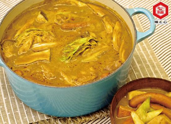 豆乳カレー鍋♪