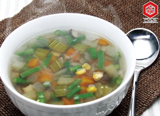 菜食レシピ★野菜スープ