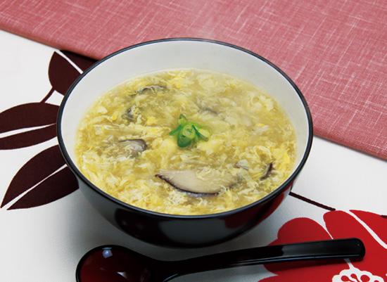 ポカポカ♪とろ~ん♪玉ねぎと生姜の卵スープ