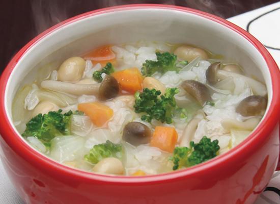 野菜リゾット~野菜白だしで簡単♪