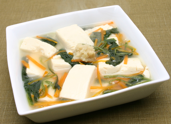 絶品!ほうれん草と豆腐のとろみ煮