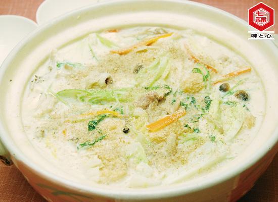 白みそで♪クリーミー豆乳鍋