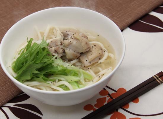 スープが美味しい|白だし鶏うどん