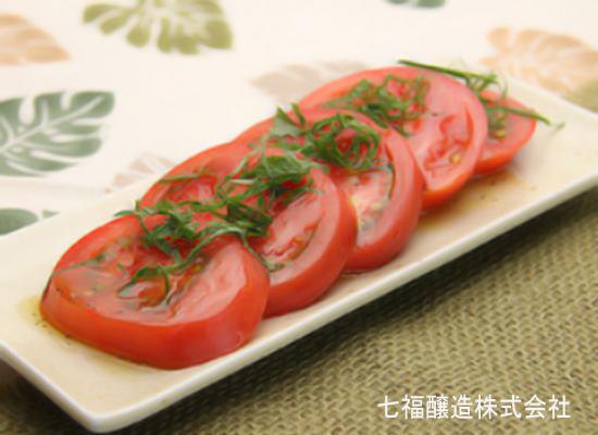 白だしで作る|かけるだけの冷やしトマト