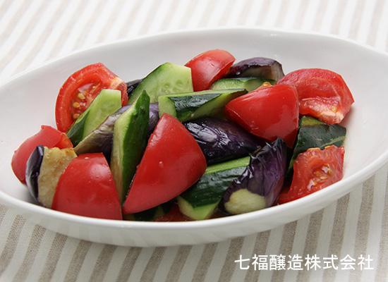 味とこころスタッフの大好き★夏レシピ|たっぷり夏野菜の白だし和え
