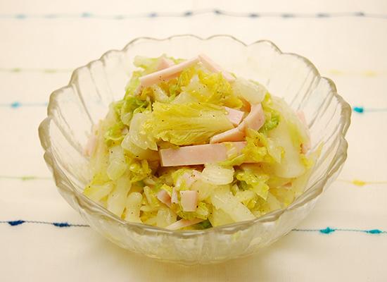 白菜のサラダ|レモン風味