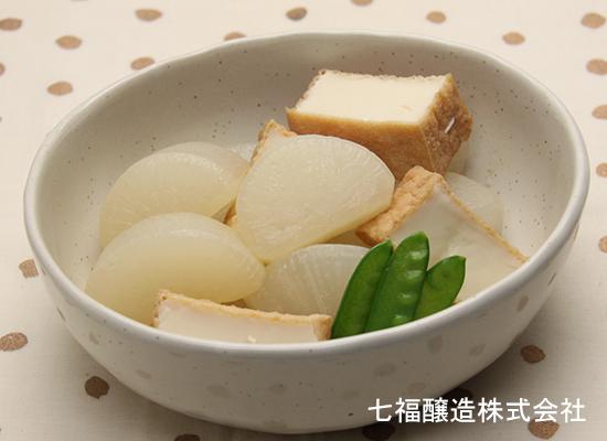 野菜白だしで作る|大根と厚揚げの煮物