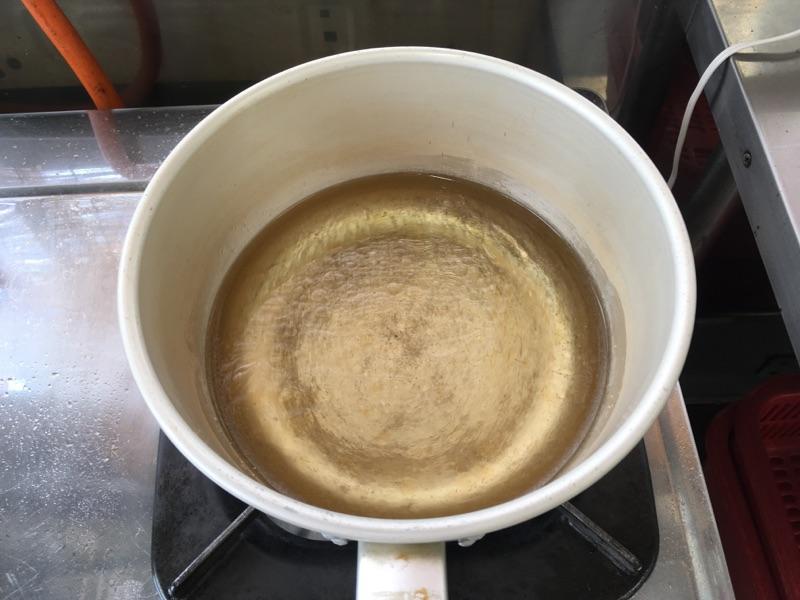 サニーレタスの中華スープ:手順1