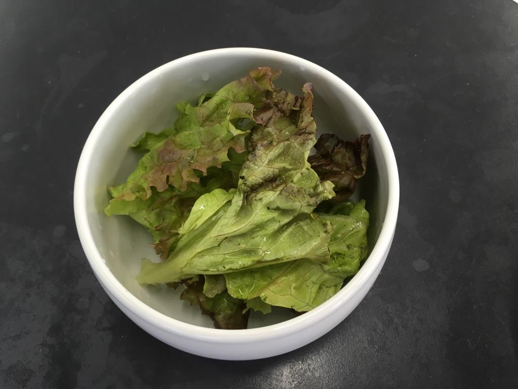 サニーレタスの中華スープ:手順0