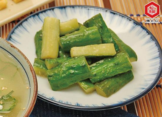 きゅうりの生姜炒め