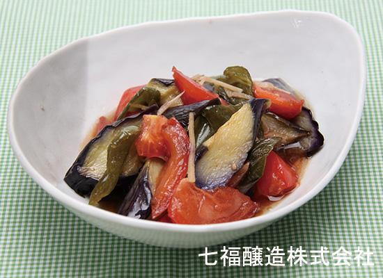 夏野菜のさっぱり和風マリネ