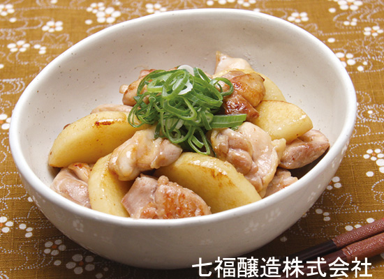 滋養に良いレシピ|長芋と鶏肉の照り煮