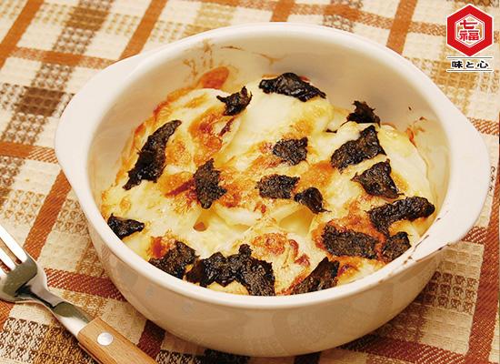 シャキシャキ長芋の和風チーズ焼き