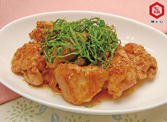 さっぱり鶏肉の梅ソテー