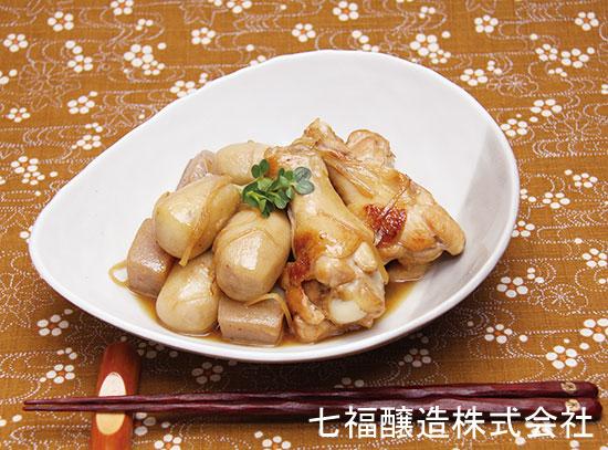 煮物だしで|里芋と手羽元の煮物