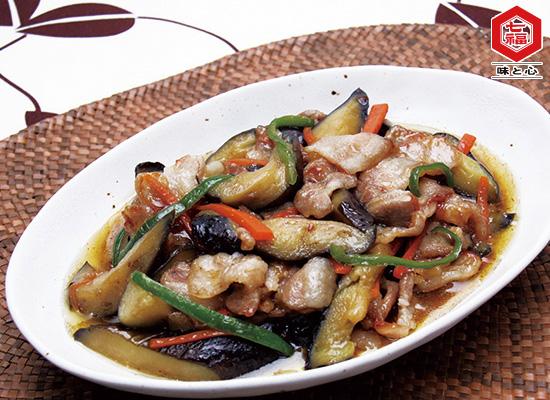 簡単★豚バラ肉と夏野菜の炒め煮♪