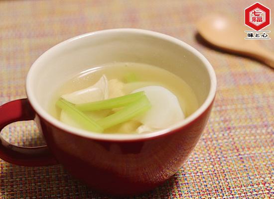 身体ポカポカ┃食べるスープ