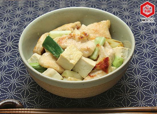 鶏むね肉と豆腐のだし旨煮
