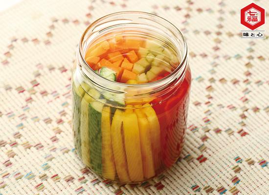 野菜の白だしピクルス