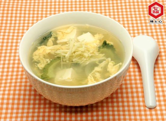 ゴーヤの美肌スープ