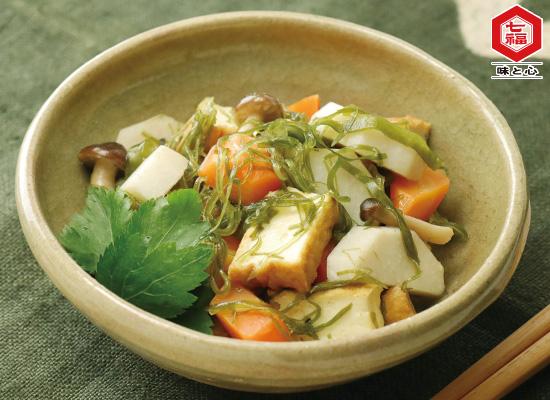 ソーメン昆布と根菜の煮物